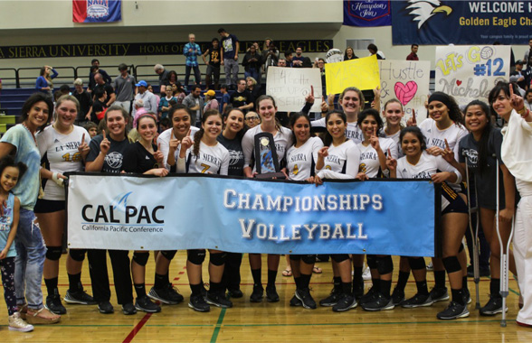Photo for LSU Repeats as Cal Pac Tournament Champions
